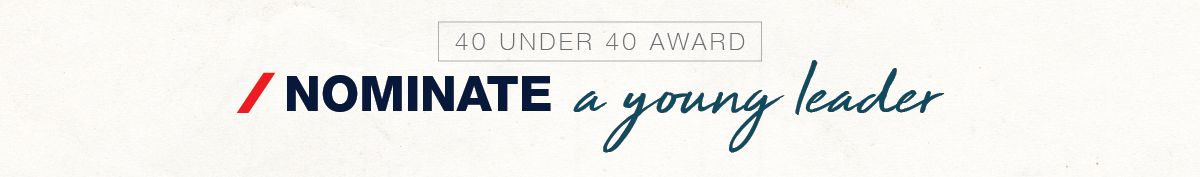 Nominate a young leader for the IMX 40 Under 40 Award