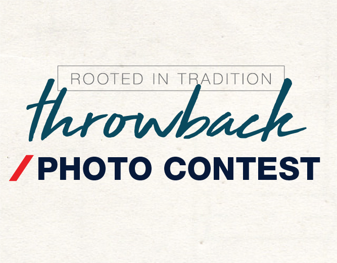 Throwback Photo Contest Promo